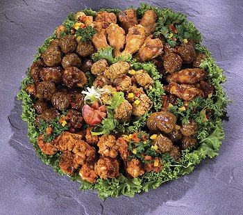 Wings-Meatballs-Tray