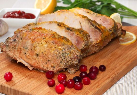 pork-tenderloin-with-balsamic-cranberry-sauce